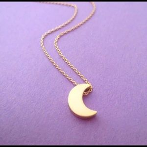 Jewelry - Crescent Moon Dainty Necklace